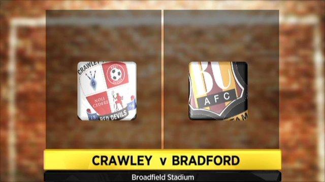 Crawley Town 3-1 Bradford