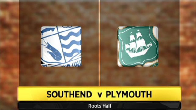 Southend 2-0 Plymouth