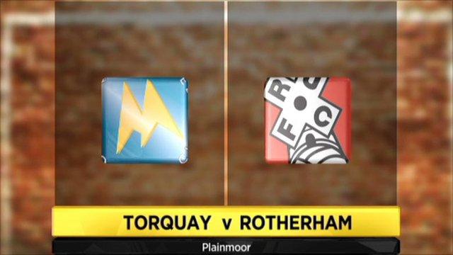 Highlights - Torquay 3-3 Rotherham