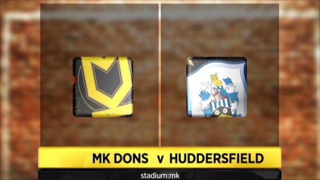 MK Dons 1-1 Huddersfield