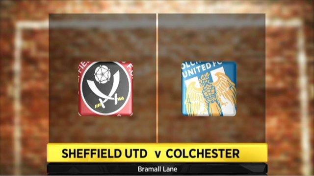Sheff Utd 3-0 Colchester