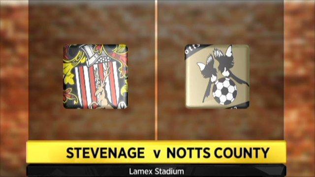 Stevenage 0-2 Notts County