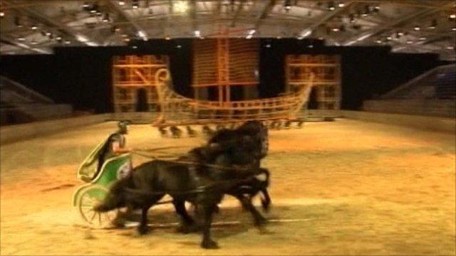 Chariot in Ben Hur Live
