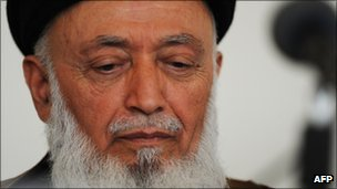 Burhanuddin Rabbani, file pic from June 2010