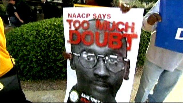 Troy Davis rally