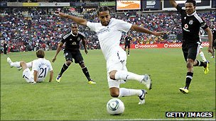 Spurs in action against Orlando Pirates in South Africa in summer 2011