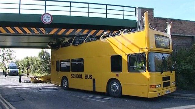 Darlington school bus crash