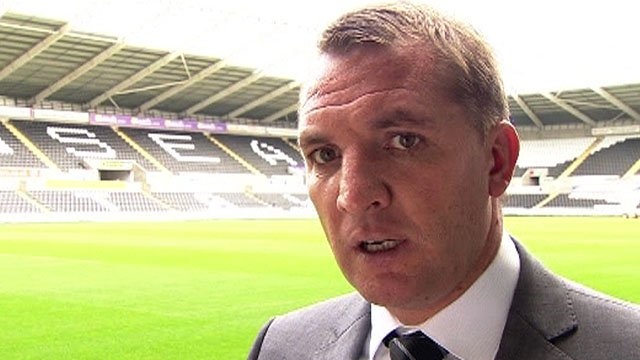 Swansea's Brendan Rodgers