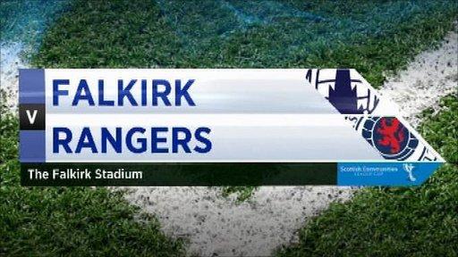 Highlights - Falkirk 3-2 Rangers
