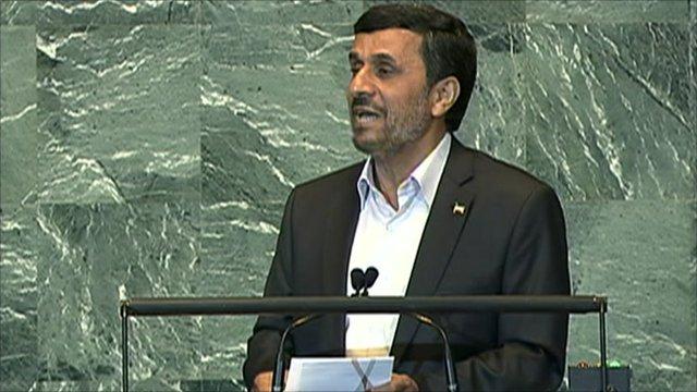 Iranian President Mahmoud Ahmadenijad