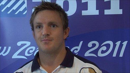 Scotland captain Rory Lawson