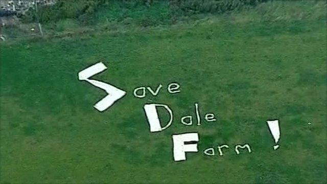 Save Dale Farm banner