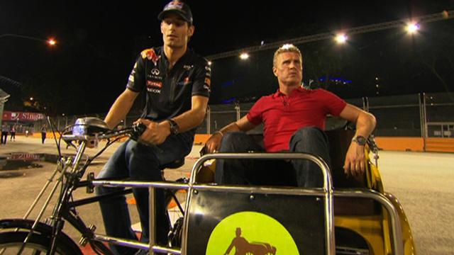 Mark Webber & David Coulthard