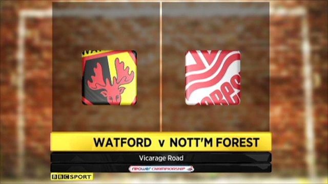 Watford 0-1 Nott'm Forest