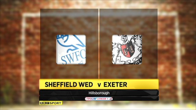 Sheffield Wed 3-0 Exeter