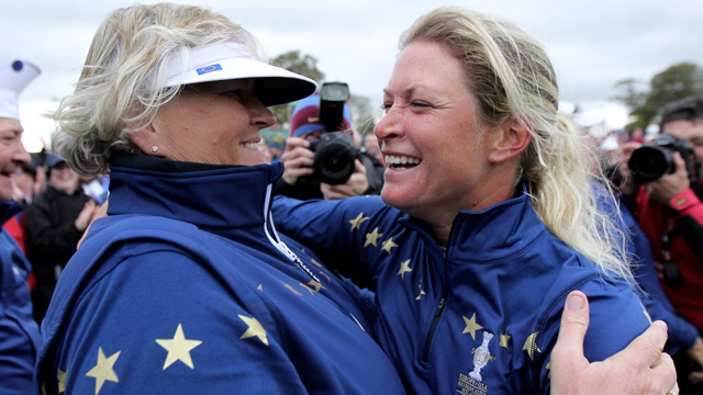 Laura Davies & Suzann Pettersen