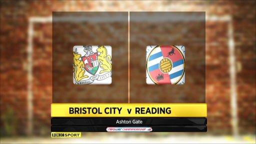 Bristol City 2-3 Reading