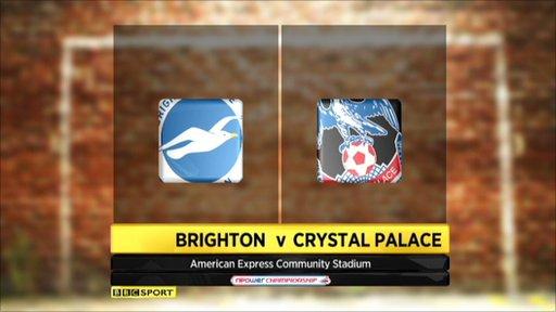 Brighton 1-3 Crystal Palace