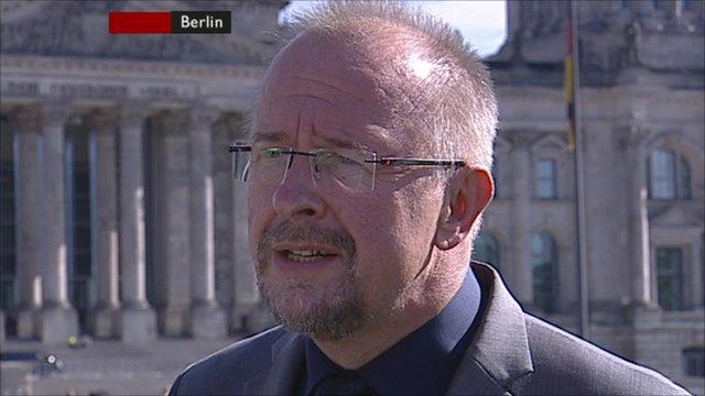 SDP member Axel Shaeffer