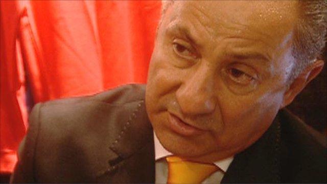 Ex-Argentine international Ossie Ardiles