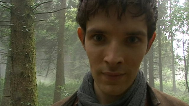Colin Morgan as Merlin