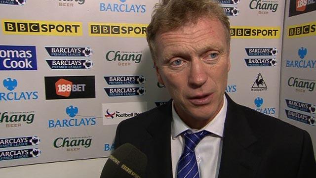 Everton boss David Moyes says Jack Rodwell red card wrong