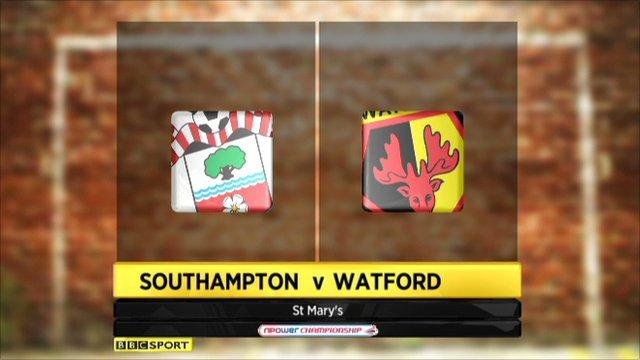 Southampton 4-0 Watford