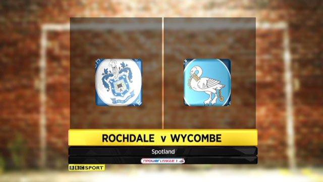 Rochdale v Wycombe