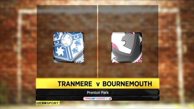 Tranmere 0-0 Bournemouth