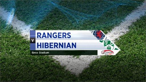 Highlights - Rangers 1-0 Hibernian