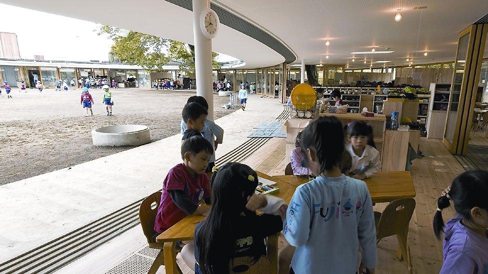 The Fuji kindergarten, Tachikawa