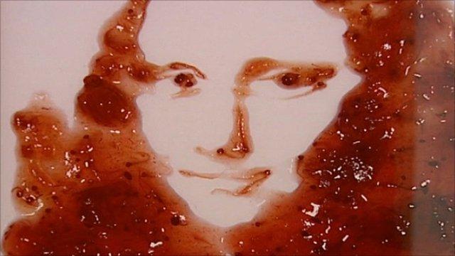 The Mona Lisa in jam