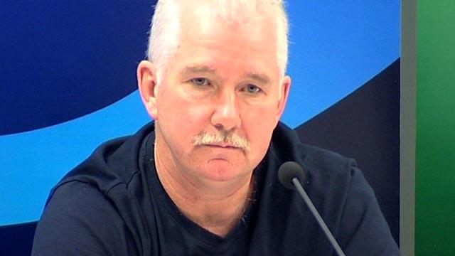 France coach Dave Ellis
