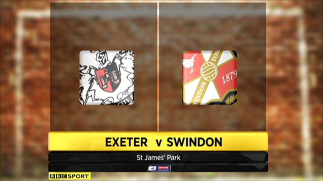 Exeter 1-2 Swindon