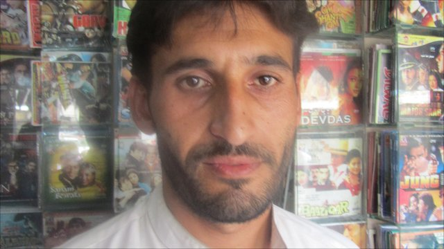 Bilal, music shop owner in Jalalabad