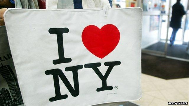 I heart NY bag