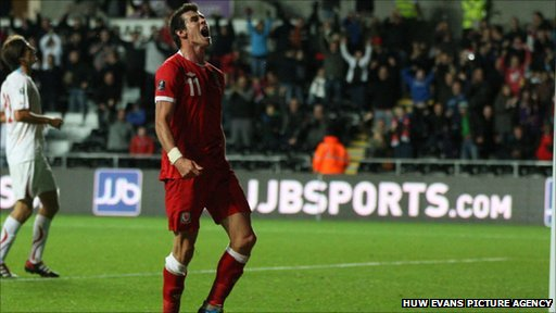 Man of the match Gareth Bale