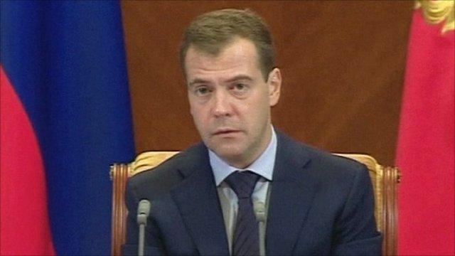 Russian President, Dmitry Medvedev