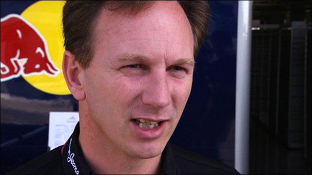 Red Bull boss Christian Horner