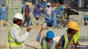 Bangladeshi Migrant workers in Qatar - 2010
