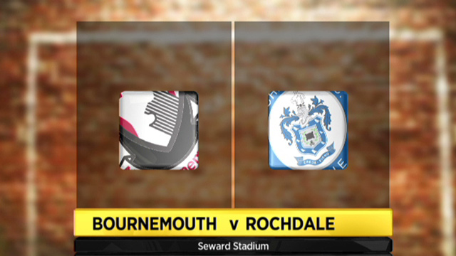 Bournemouth 1-1 Rochdale