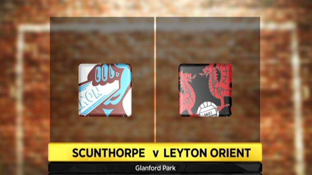 Scunthorpe 2-3 Leyton Orient