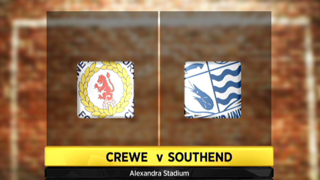Crewe 1 - 3 Southend