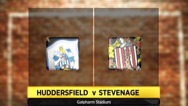 Huddersfield 2-1 Stevenage