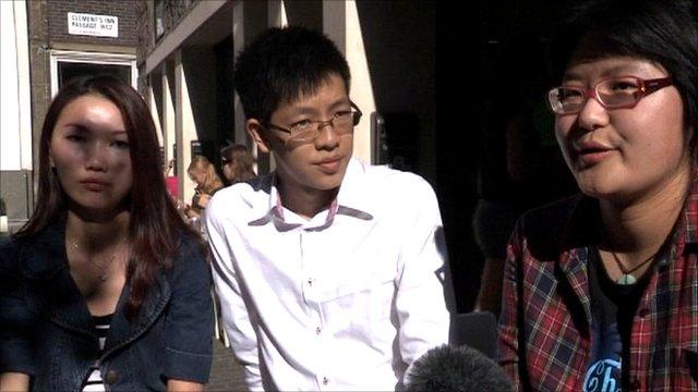 Henry Chau, Lily Yue and Amelia Bian