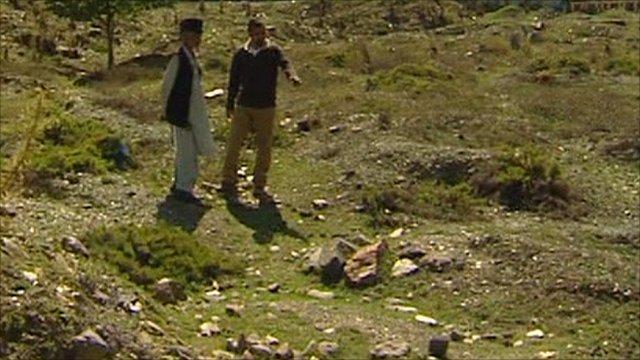 Unmarked graves in Kashmir