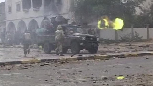 Fighting in Sirte
