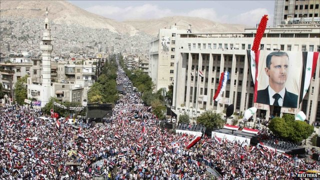 Rally in Damascus