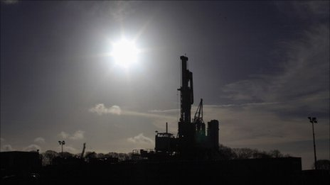 Shale gas drilling in Lancashire