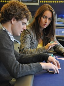 Sam Holden and Liv Boeree